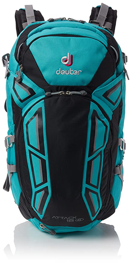 Deuter Attack 18 SL Mochila, Unisex Adulto, Verde (Mint/Black),