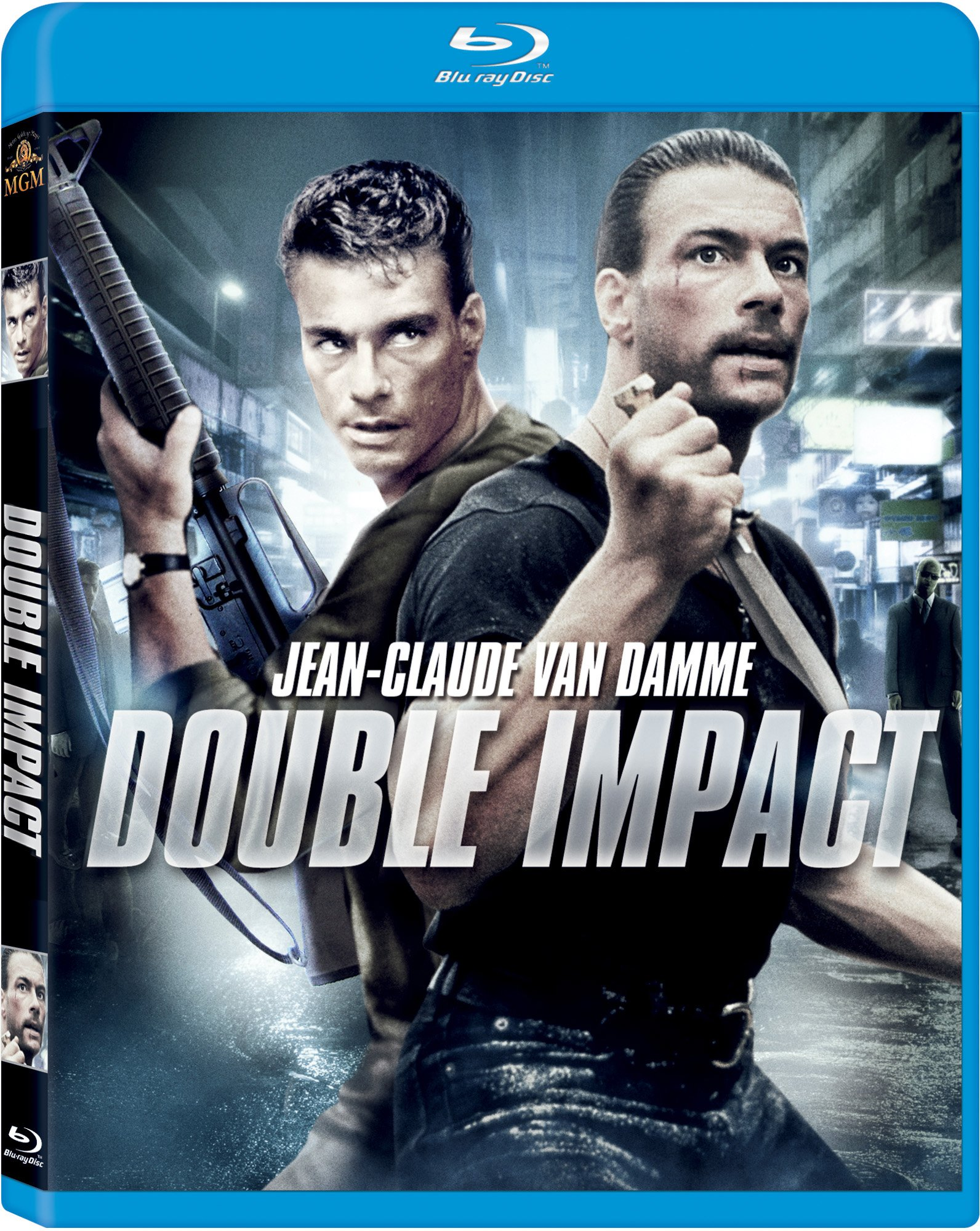 Blu-ray : Double Impact (Dolby, , Widescreen, Digital Theater System)