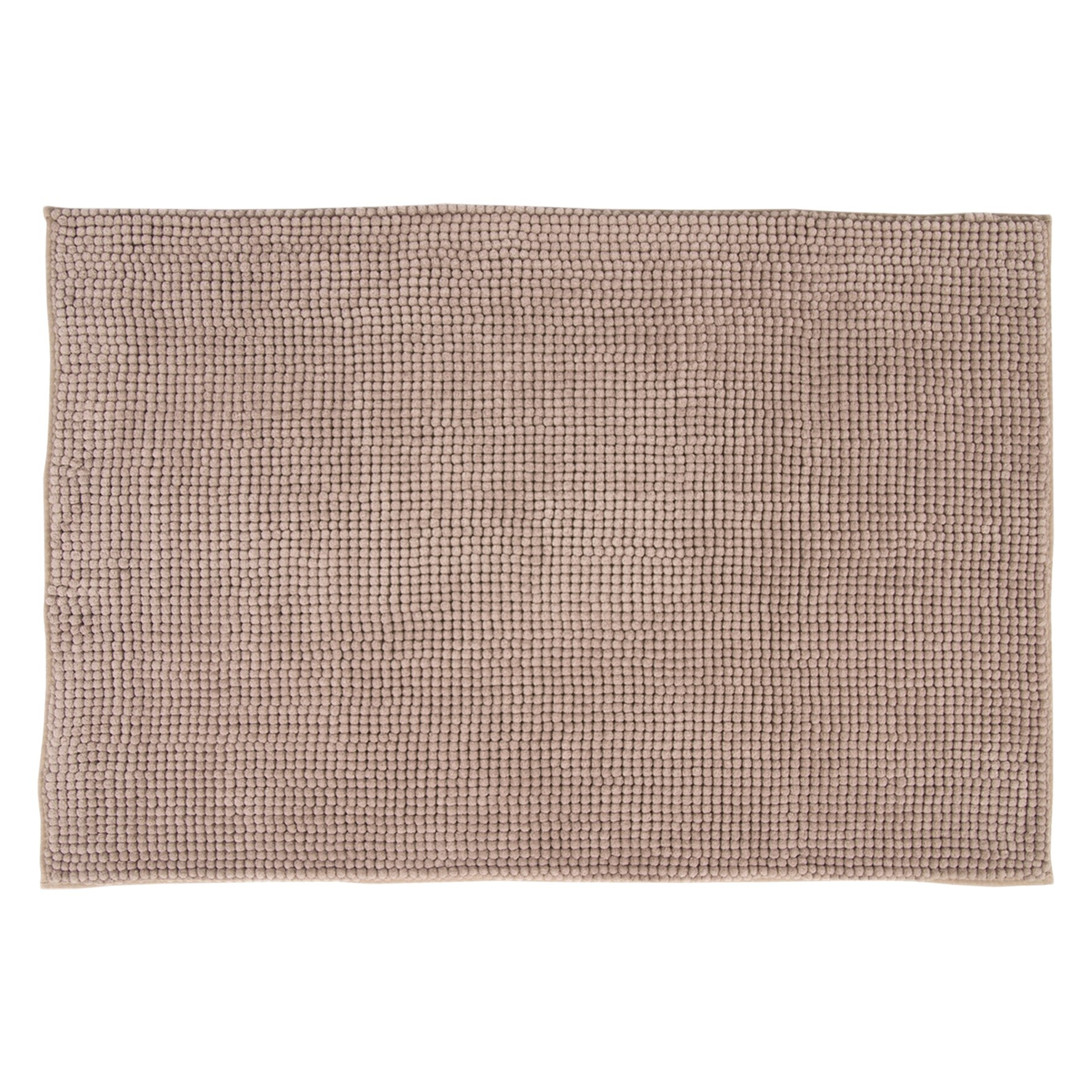 DIFFERNZ 31.220.08 Candore Bath Mat, Taupe by Differnz