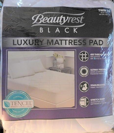 Beautyrest - Colchón de Lujo Negro, Individual, XL, 400 ...