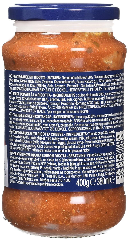 Barilla Ricotta Sauce 400 G Pack Of 6 Amazon Grocery