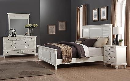 Amazon.com: Roundhill Furniture Regitina 016 Bedroom ...