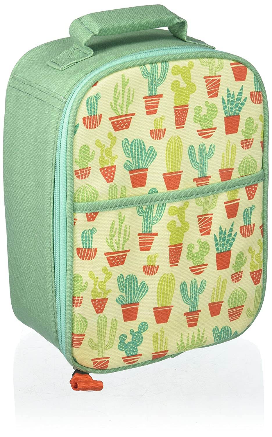 SugarBooger Zippee Lunch Tote, Happy Cactus ORE Originals A1268