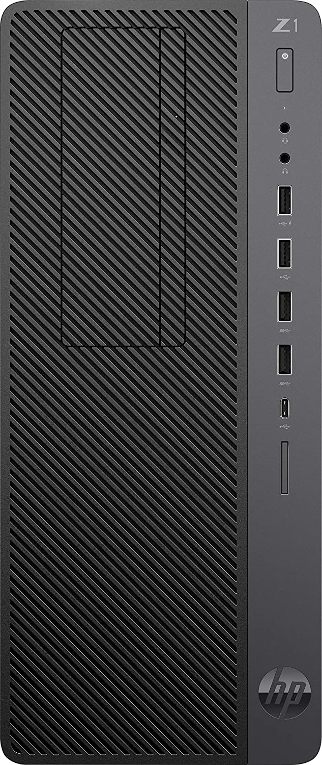 HP Z1 G4 Entry Gaming Workstation Tower PC with 4.70GHz i7 (8-Core) Processor and NVIDIA GeForce RTX 2070 Super 8GB Graphics (512GB SSD, 16GB RAM) Windows 10 Pro (Renewed)