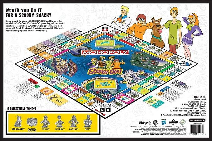 Monopoly Scooby-Doo 50th Anniversary: Amazon.es: Juguetes y juegos