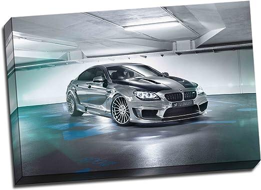 BMW M6 Gran Coupe >> Amazon Com Panther Print Hamann Bmw M6 Gran Coupe Canvas