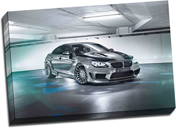 Framed Picture Print Wall Art BMW M2-30x20 Inch Canvas