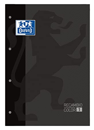 80 A4 Sheets Oxford 100108306 Refill Pad
