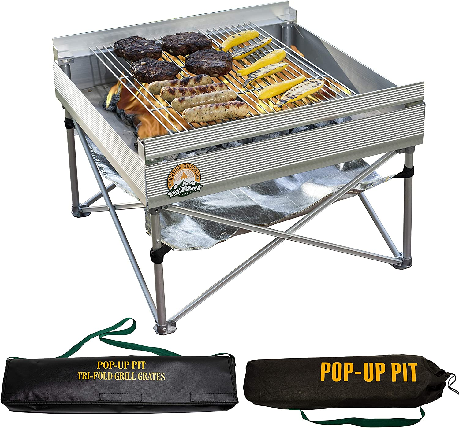 Pliant Fire Pit BBQ Camping