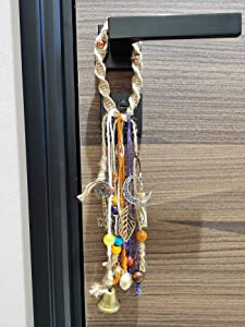 Witch Bells for Door Knob - Witches Bells for Protection - Witchcraft Home Decor - Wiccan Room Decor - Gifts for Witches - Pagan Altar Supplies - 13 Inches