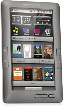 Energy Color C7+ Touch - Lector eBook, 4 GB, 7