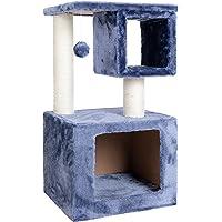 Cat Tree Scratching Post 70 cm 1 Condo (Blue)