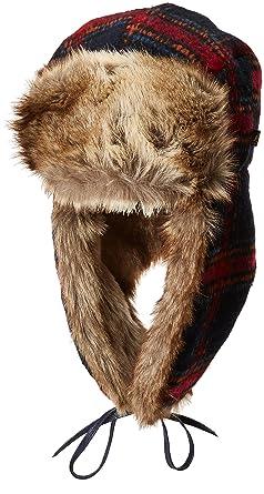 676e8832 Kangol Checks Aviator Hat chapka Fur (XL (60-61 cm) - Blue): Amazon.co.uk:  Clothing
