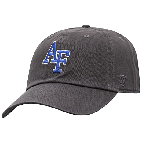 size 40 b152e d861b Top of the World NCAA Air Force Falcons Men s Adjustable Relaxed Fit  Charcoal Icon Hat,