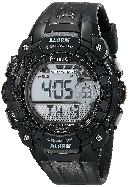 Armitron Sport Men s 408209BLK Digital Watch