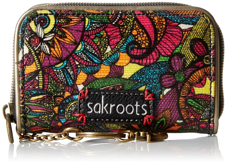 Sakroots Artist Circle Zip Id Case Wallet Rainbow Spirit Desert One Size 107330