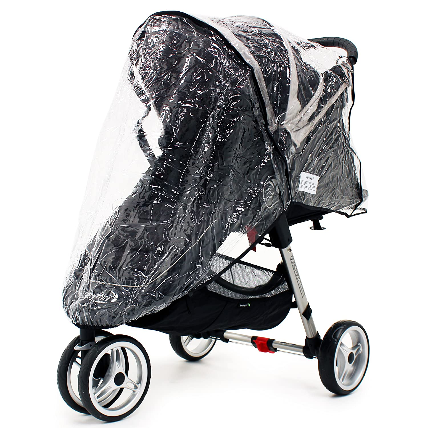 BABY JOGGER CITY MINI MICRO SINGLE RAIN COVER ZIPPED WEATHER SHIELD 1Stopbabystore