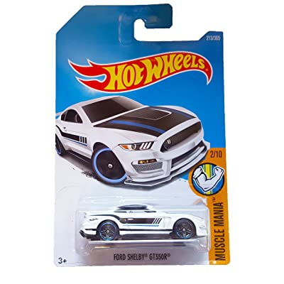 Hot Wheels 2020 Muscle Mania Ford Shelby GT350R 213/365, White: Toys & Games