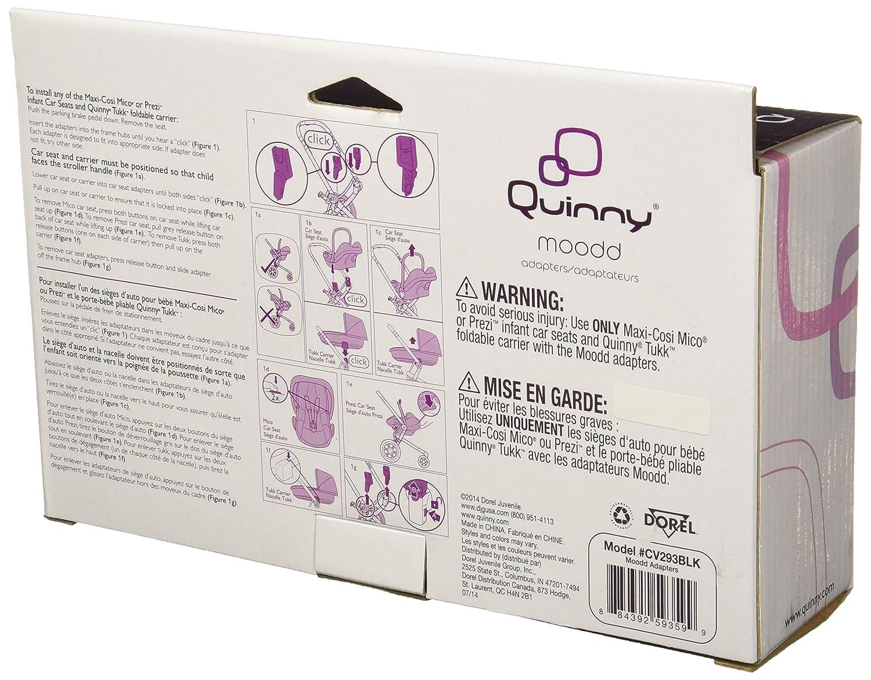 Amazon.com: Quinny Moodd carriola Sustitución Adaptadores de ...
