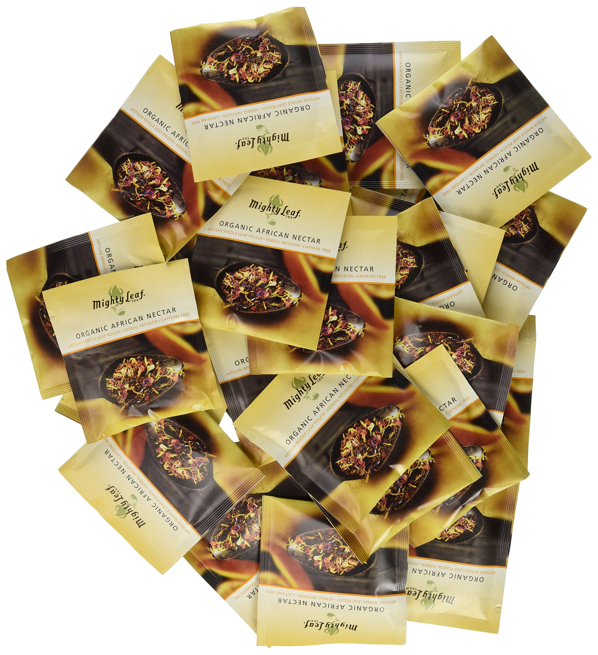 Mighty Leaf Organic African Nectar Tea, 100 Tea Pouches by Mighty Leaf Tea (Image #2)
