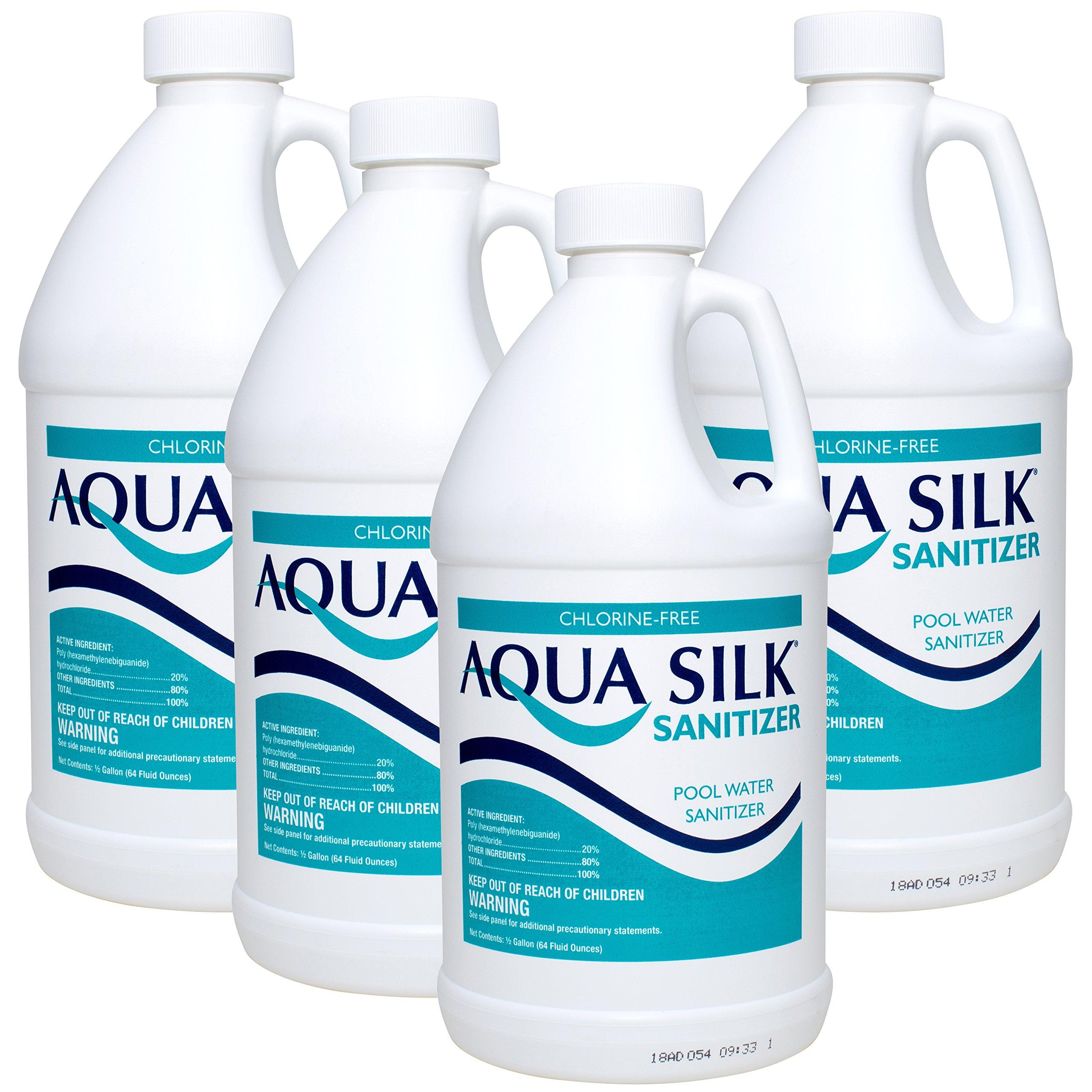 Aqua Silk Chorine-Free Sanitizer (0.5 gal) (4 Pack)