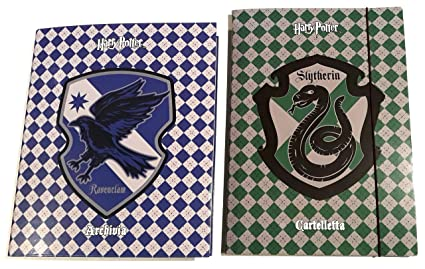 Harry Potter Revenclaw - Recogedor de 4 anillos + Carpeta ...