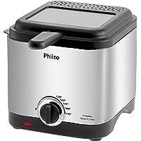 Fritadeira deep fry, Deep fry inox, 1.8L, Preto, 110v, Philco