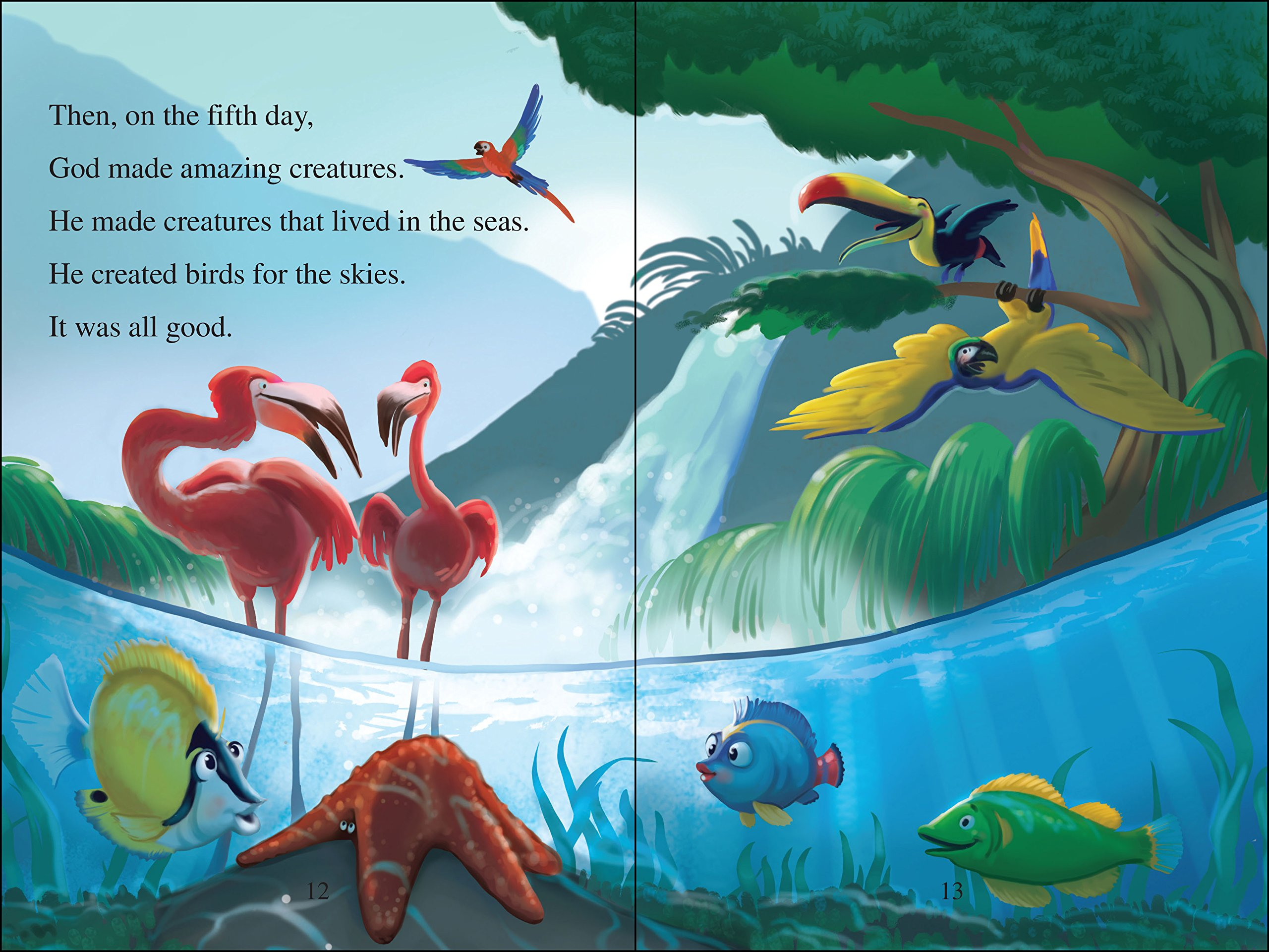 amazon com god u0027s great creation i can read adventure bible