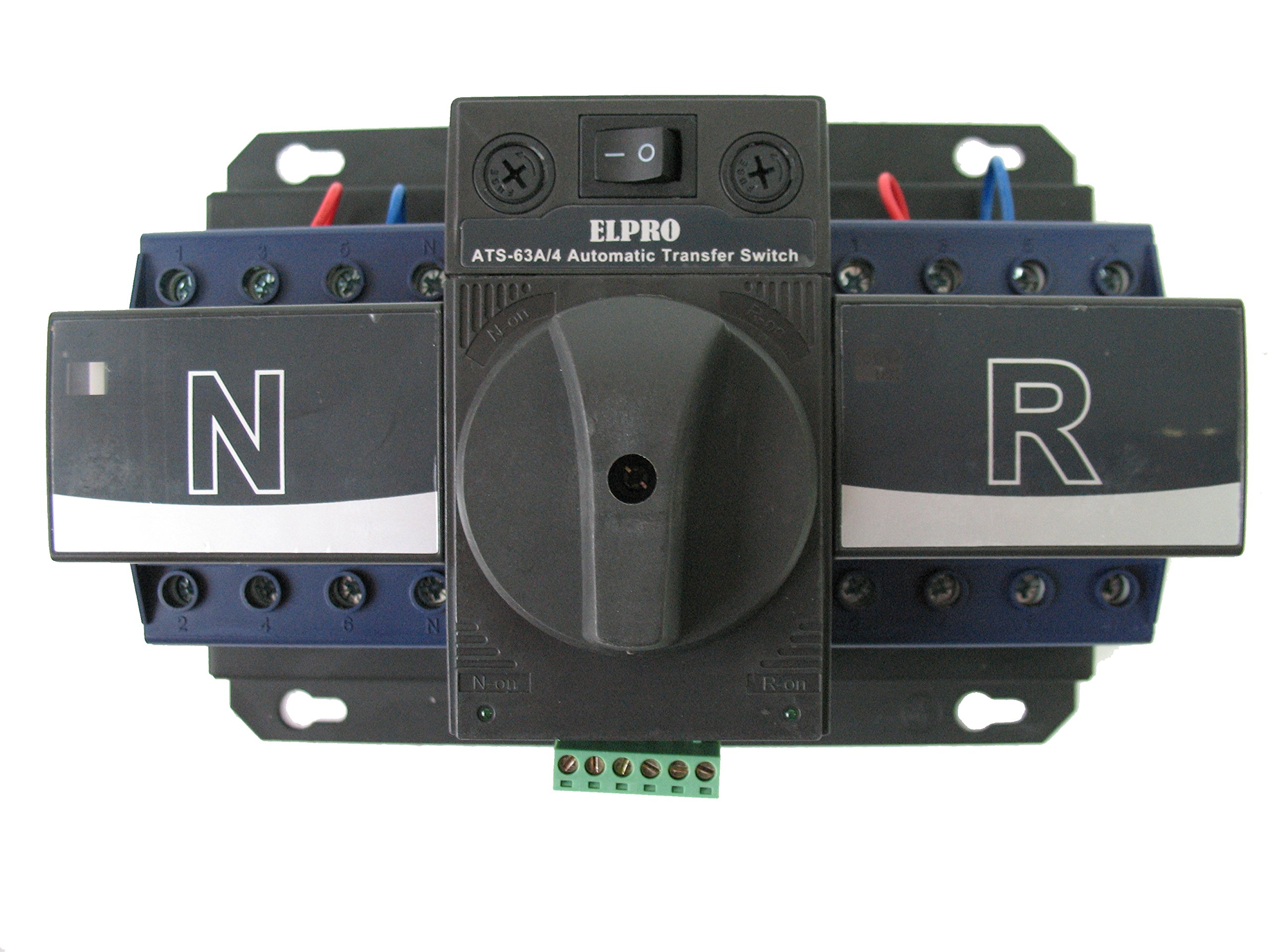ELPRO ATS-63A, 120/208V 50-60Hz Automatic Transfer Changeover Switch, 2-3 phase, 4P by ELPRO (Image #1)