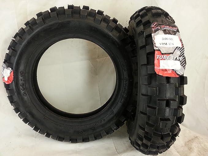 Neumáticos 3. 00 - 10 para Piaggio Vespa 50/125 cc, recomendado para nieve/barro: Amazon.es: Juguetes y juegos