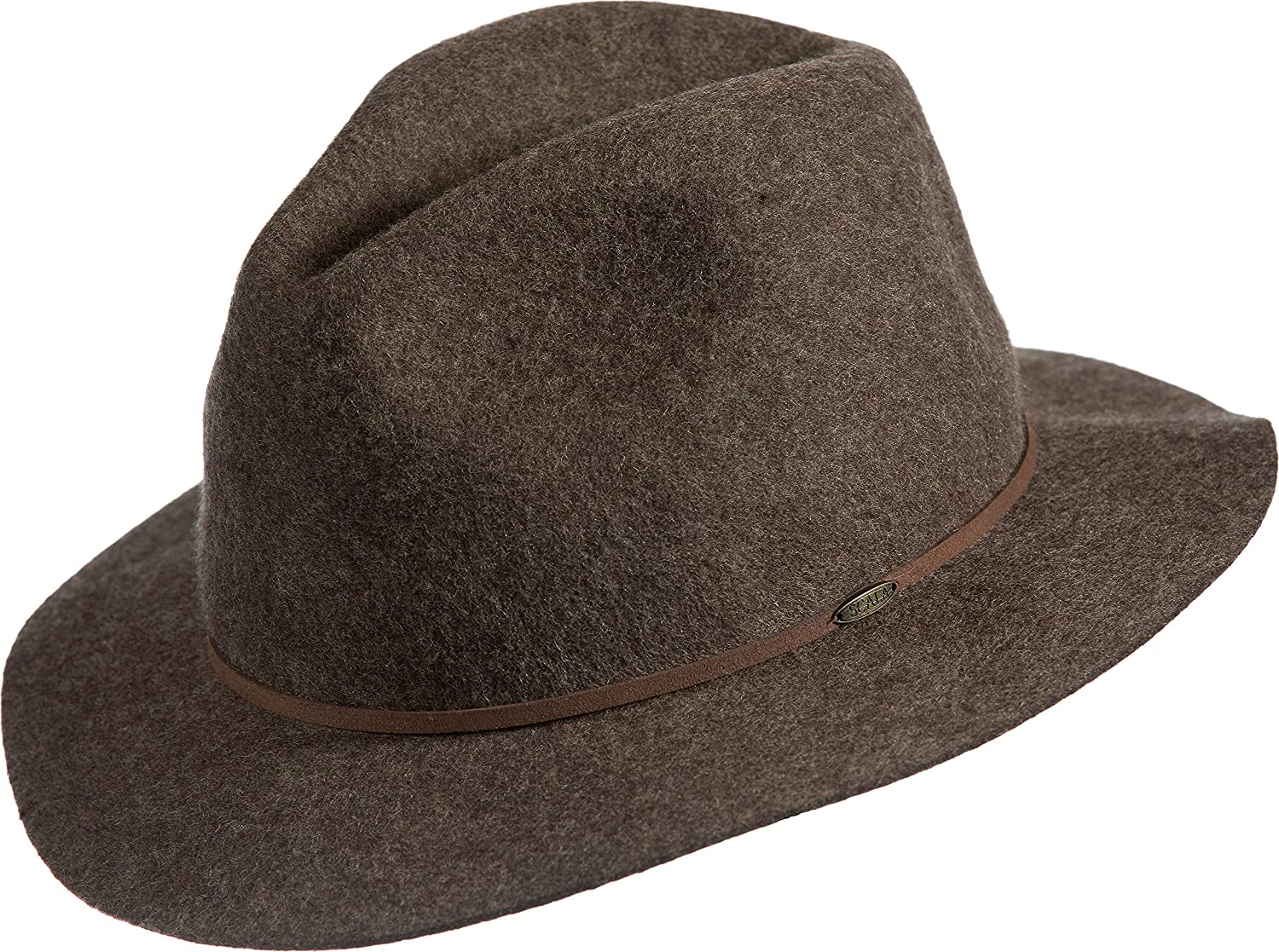 28d3889cf83 Overland Edward Crushable Wool Felt Safari Hat at Amazon Women s Clothing  store