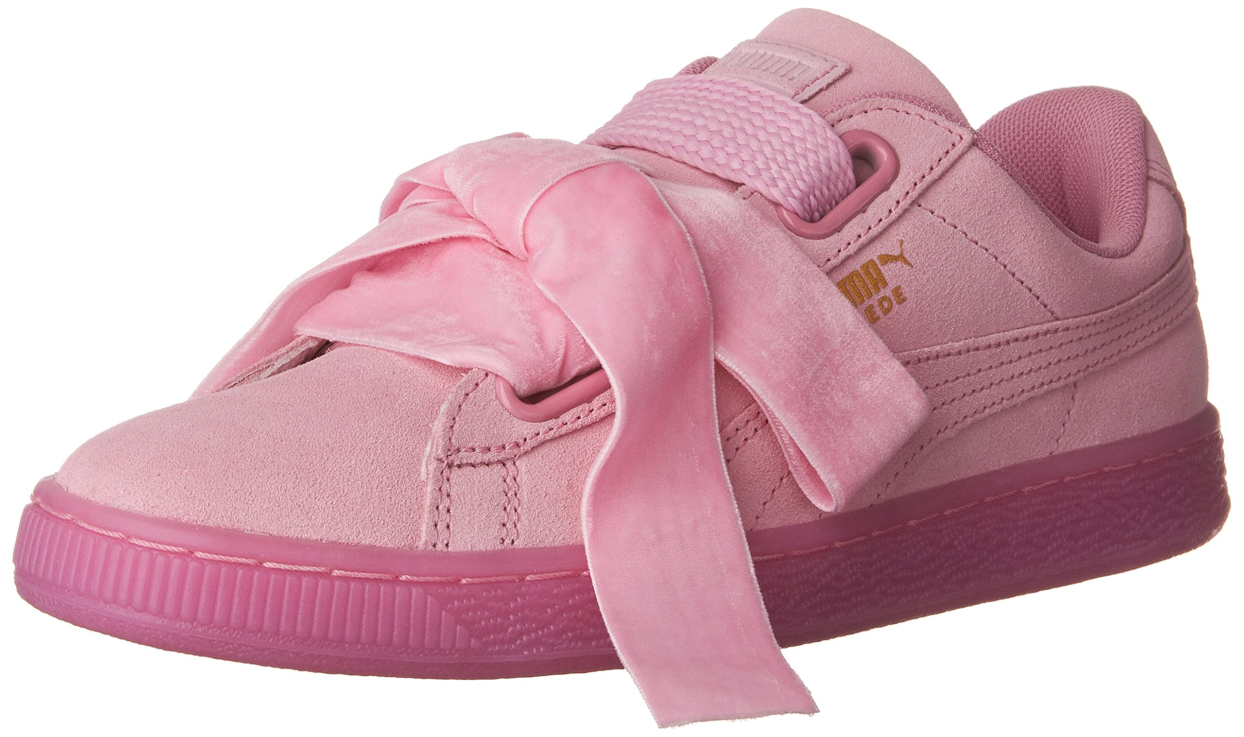 sports shoes a4cb0 65363 PUMA Women's Suede Heart Reset WN's Fashion Sneaker, Prism Pink, 9 M US