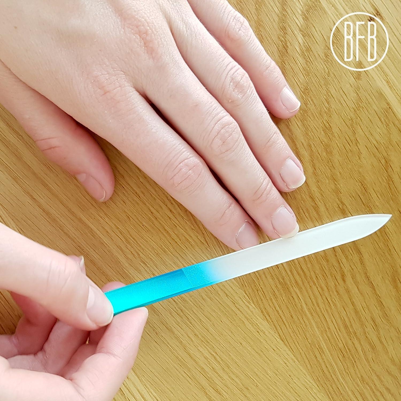 Amazon.com : Glass Nail Files by Bona Fide Beauty Crystal Nail Files ...