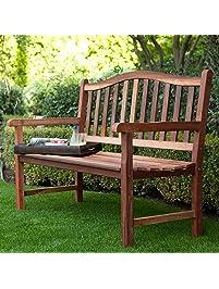 Amazon.com: Benches - Patio Seating: Patio, Lawn & Garden on Belham Living Richmond Bench id=12892