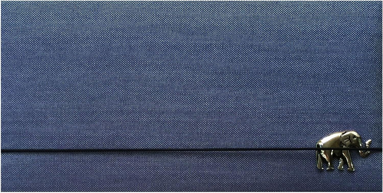 Handmade Grey Silk Blend Checkbook Cover /& Holder Checkbook Wallet /& Register