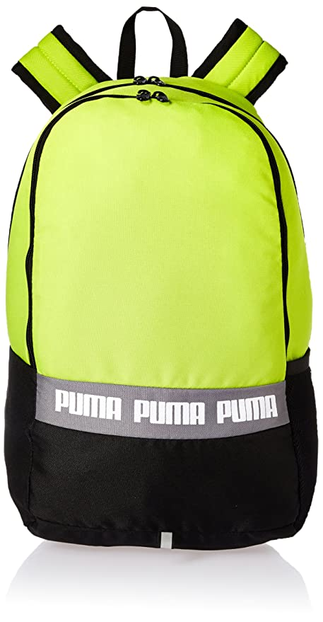 Puma Acid Lime Laptop Backpack (7566504)  Amazon.in  Bags a70f39736d23e