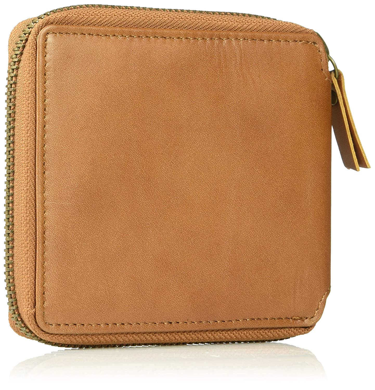 RVCA Mens Zip Around Wallet