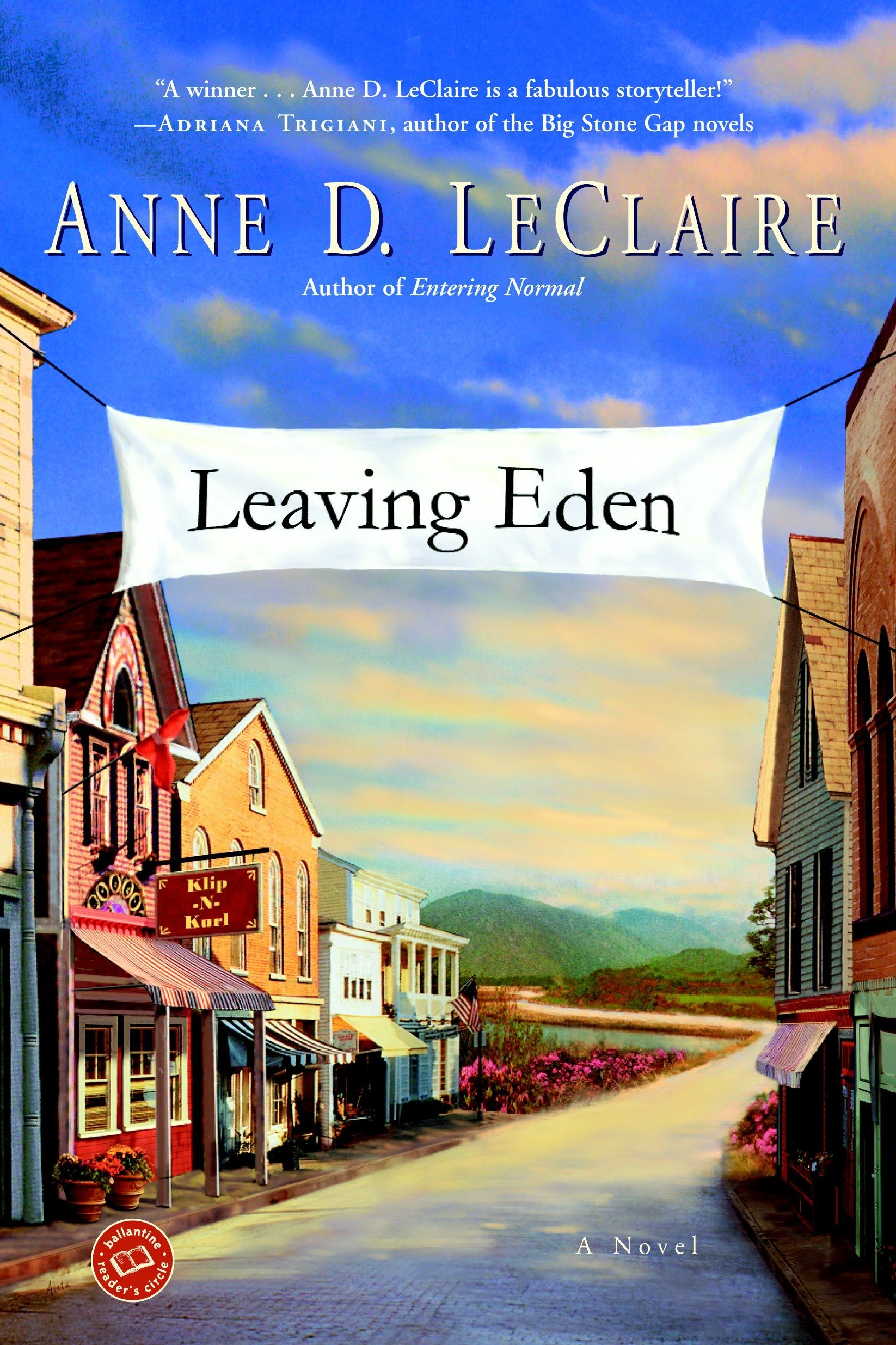 Leaving Eden (Ballantine Reader's Circle) pdf