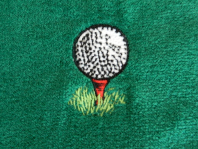 Amazon.com: Personalizado Diseño de golf Toalla arandela de ...