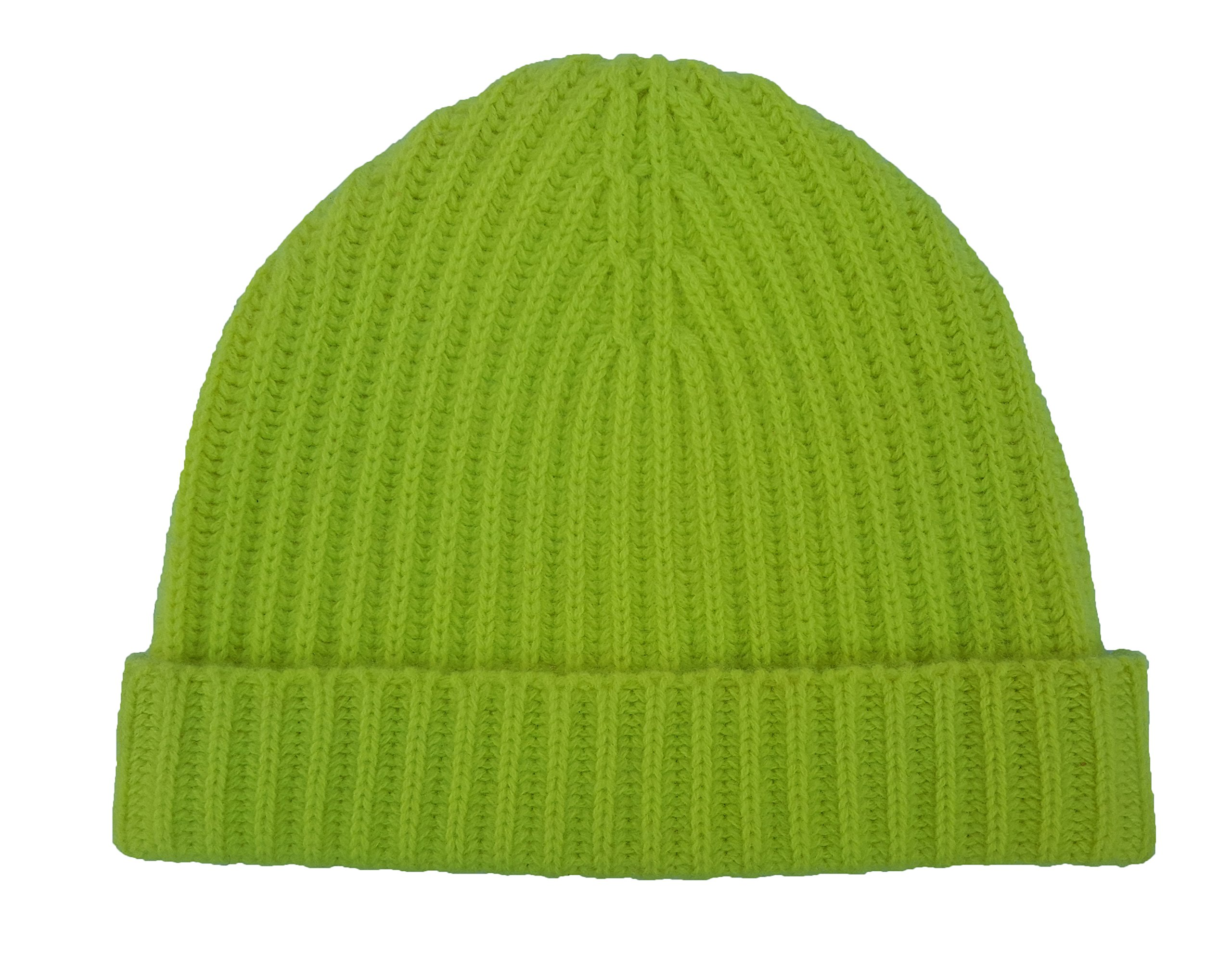 Polo Ralph Lauren Ribbed Cashmere Hat One Size (One Size Fits All, Yellow)