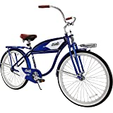 "Columbia 1937 Deluxe 26"" Men's Retro Tank Single-Speed Vintage Beach Cruiser Bicycle"