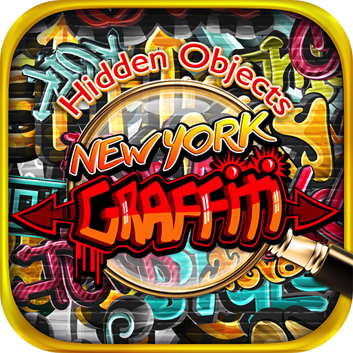 [Hidden Objects New York Graffiti – Object Time Puzzle Photo Pic Seek & Find Game] (Halloween Adventure New York)
