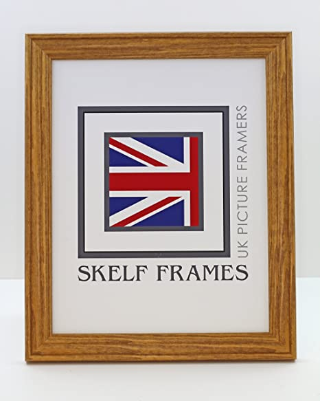 HONEY PINE WOOD PICTURE PHOTO FRAME (13\