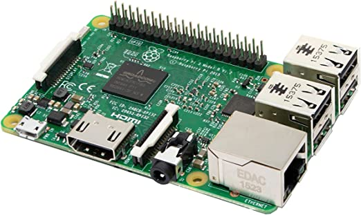 Raspberry Pi 3 Model B, CPU Quad Core 1,2GHz Broadcom BCM2837 64bit , 1GB RAM, WiFi, Bluetooth BLE: Amazon.es: Informática