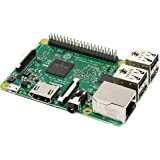 Raspberry Pi 3 Modelo B - Placa Base (1.2 GHz Quad-Core Arm Cortex-A53, 1GB RAM, USB 2.0)