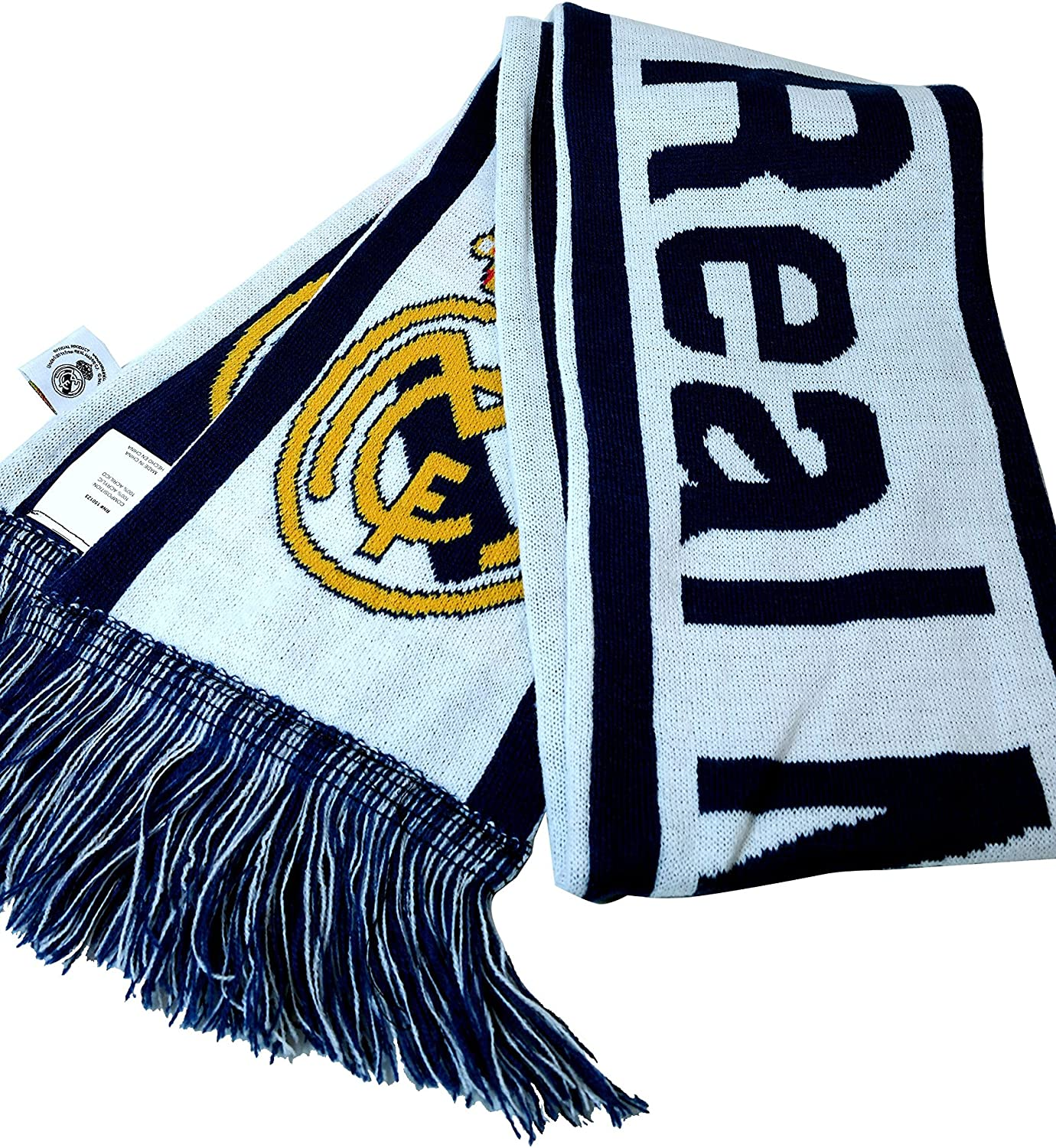 Real Madrid Authentic Official Licensed Product Soccer Scarf