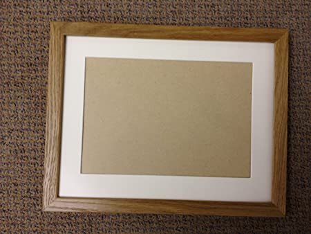 Solid Oak Picture/Photo Frames with mounts - Various sizes available ...