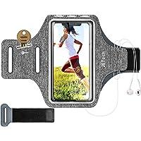 JETech Brazalete Deportivo Compatible iPhone SE(2020)/11/11 Pro/XR/XS/X/8 Plus/7 Plus/8/7/6s/6, Galaxy S10/S9/S9+,Correa…
