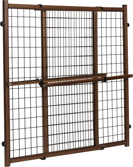 "Set of 2 Evenflo Position Lock Tall Pressure-mount Wood Baby Gates 31/""-50/"" Pet"
