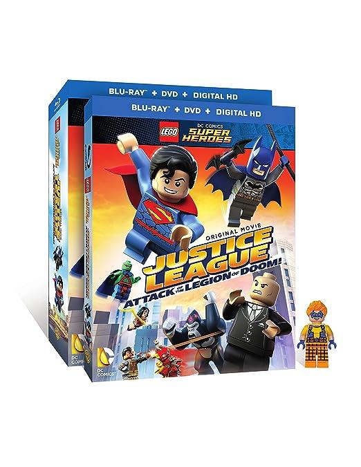 Lego Dc Super Heroes: Justice League W/Figurine 2 Blu-Ray Edizione ...